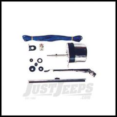 Omix-ADA Wiper Motor Kit 12V Stainless Steel For 1941-67 Jeep M & CJ Series (One Side) 19101.03