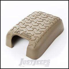 Rugged Ridge Tan Polyurethane Foam Center Console Cover For 2011-18 Jeep Wrangler JK 2 Door & Unlimited 4 Door Models 13107.43