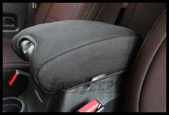 Rugged Ridge Arm Rest Pad Black Neoprene 2011-18 JK Wrangler, Rubicon and Unlimited 13108.01