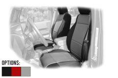 Rugged Ridge Custom Fit Neoprene Front Seat Covers For 2007-10 Jeep Wrangler JK 2 Door & Unlimited 4 Door Models 13214-