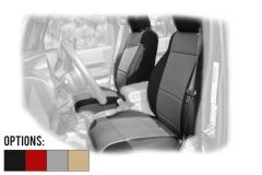 Rugged Ridge Custom Fit Neoprene Front Seat Covers For 2011-18 Jeep Wrangler JK 2 Door & Unlimited 4 Door Models 13215-