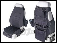 Rugged Ridge Cloth Seat Protectors Black 1976-06 Wrangler and CJ 13235.01