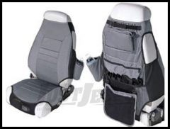 Rugged Ridge Cloth Seat Protectors Grey 1976-06 Wrangler and CJ 13235.09