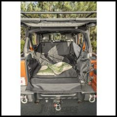Rugged Ridge C3 Cargo Cover With Side-Subwoofer For 2007-14 Jeep Wrangler Unlimited 4 Door Models 13260.02