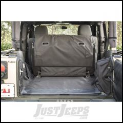 Rugged Ridge C3 Cargo Cover For 2007-18 Jeep Wrangler 2 Door Models With Subwoofers 13260.04