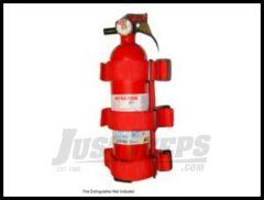 Rugged Ridge Sport Bar Fire Extinguisher Holder 13305.20