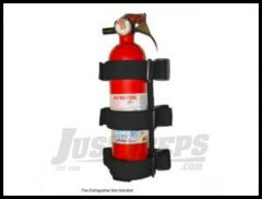 Rugged Ridge Sport Bar Fire Extinguisher Holder (Up to 3lbs) 13305.21