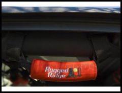 Rugged Ridge Neoprene Grab Handles in Red Universal 13305.31