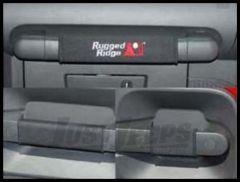 Rugged Ridge Door Handle Wraps in Black 2007-10 JK Wrangler Unlimited 13305.54