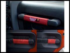 Rugged Ridge Door Handle Wraps in Red 2007-10 JK Wrangler Unlimited 13305.55