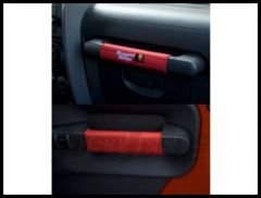 Rugged Ridge Door Handle Wraps in Red 2007-10 JK Wrangler, Rubicon 13305.57