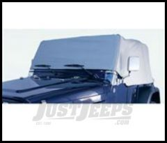 Rugged Ridge Cab Cover Grey For 1987-91 Jeep Wrangler YJ 13310.09