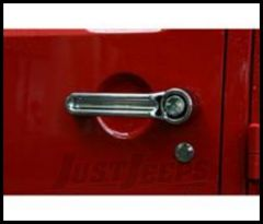 Rugged Ridge Door Handle Covers Chrome For 2007+ JK Wrangler 13311.10