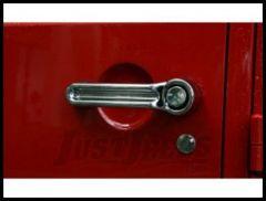 Rugged Ridge Chrome Door Handle Covers 2008-09 Liberty 13311.13