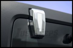 Rugged Ridge Chrome Liftgate Hinge Covers For 2007-18 Jeep Wrangler JK 2 Door & Unlimited 4 Door Models 13311.25