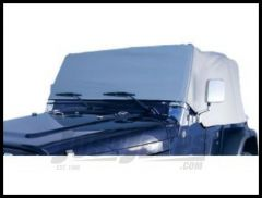 Rugged Ridge Deluxe Cab Cover, Water Resistant - Gray For 1976-86 CJ7 13315.09