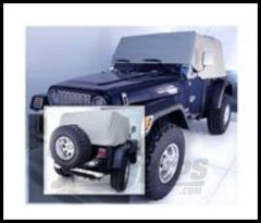 Rugged Ridge Cab Cover Grey For 1992-06 Wrangler and Rubicon 13316.09