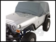 Rugged Ridge Weather Lite Cab Cover 1976-06 Wrangler YJ TJ and CJ Series 13321.01