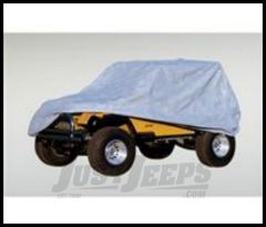Rugged Ridge Weather Lite Full Cover Gray For 1976-06 Wrangler and CJ 13321.51