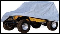 Rugged Ridge Heavy Duty 3 Layer Full Car Cover 2004-18+ Jeep Wrangler TJ Unlimited, JK Unlimited & JL Unlimited 13321.71