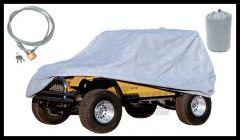 Rugged Ridge Full Cover w/Lock & Bag 2004-18 Jeep Wrangler TJ Unlimited & JK Unlimited Models 13321.73