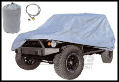 Rugged Ridge 3-Layer Car Cover with Cover, Bag Cable & Lock Kit 2007+ JK Wrangler and Rubicon 13321.81