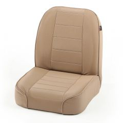 Rugged Ridge Premium Low-Back Bucket Seat Tan 1955-86 CJ Series 13400.04