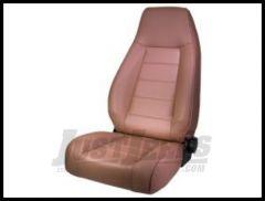Rugged Ridge Premium High-Back Reclining Bucket Seat Nutmeg denim 1976-02 Wrangler YJ TJ and CJ Series 13402.07