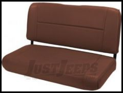 Rugged Ridge Fixed Vinyl Rear Seat Nutmeg denim 1955-95 Wrangler and CJ 13461.07