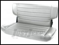 Rugged Ridge Fold & Tumble Vinyl Rear Seat Gray denim 1997-02 TJ Wrangler 13463.09