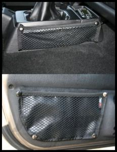 Rugged Ridge Door Box & Console Trail Net Kit 1997-06 TJ Wrangler, Rubicon and Unlimited 13551.21