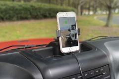 Rugged Ridge Dash Multi-Mount Charging Phone Kit For 2011-18 Jeep Wrangler JK 2 Door & Unlimited 4 Door Models 13551.34