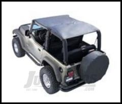 Rugged Ridge Island Topper Gray denim For 1992-95 Jeep Wrangler YJ 13553.09