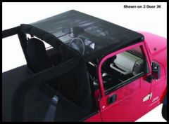 Rugged Ridge Mesh Summer Island Topper 2010+ JK Wrangler, Rubicon and Unlimited 13579.13