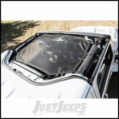 Rugged Ridge Total Eclipse Sun Shade For Hard-Top For 2007-18 Jeep Wrangler JK 2 Door & Unlimited 4 Door Models 13579.10