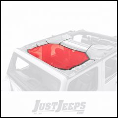 Rugged Ridge Red Eclipse Sun Shade For 2007-18 Jeep Wrangler JK 2 Door & Unlimited 4 Door Models 13579.24