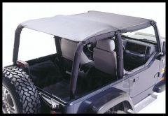 Rugged Ridge Value Line Bimini Plus Top Black denim 1997-06 TJ Wrangler, Rubicon and Unlimited 13581.15