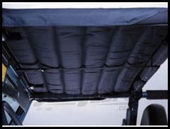 Rugged Ridge Acoustic Header Island Topper in Black Denim 1997-06 TJ Wrangler, Rubicon and Unlimited 13582.15