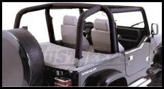 Rugged Ridge Roll Bar Cover Kit in Black Denim 1997-02 TJ Wrangler 13612.15
