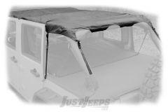 Rugged Ridge Montana Pocket Island Topper In Black Diamond For 2007-18 Jeep Wrangler JK Unlimited 4 Door Models 13622.35