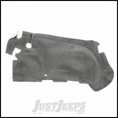 Omix-ADA Black Rear Passenger Side Wheelhouse Carpet For 2003-06 Jeep Wrangler TJ & TJ Unlimited Models 13691.02