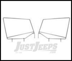 Rugged Ridge Replacement Upper Door Frames For 1987-95 Jeep Wrangler YJ 13701.80