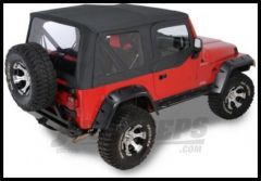 Rugged Ridge XHD Replacement Soft Top with Upper Door Skins Black Denim 1997-02 TJ Wrangler 13723.15