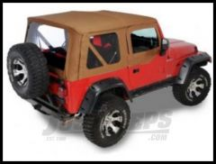 Rugged Ridge XHD Replacement Soft Top with Upper Door Skins Spice 1997-02 TJ Wrangler 13723.37
