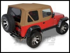 Rugged Ridge XHD Replacement Soft Top with Upper Door Skins & Tinted Windows Spice 1997-02 TJ Wrangler 13724.37