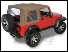 Rugged Ridge XHD Replacement Soft Top Dark Tan 1997-02 TJ Wrangler 13725.33