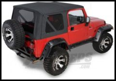 Rugged Ridge XHD Replacement Soft Top with Tinted Windows Black Denim 1997-02 TJ Wrangler 13726.15
