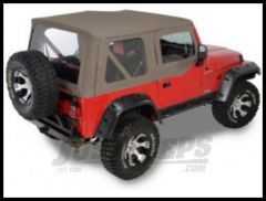 Rugged Ridge XHD Replacement Soft Top with Upper Door Skins Khaki Diamond 2003-06 TJ Wrangler 13727.36