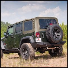 Rugged Ridge Fabric Replacement Soft Top Khaki Diamond For 2007-09 Jeep Wrangler JK, Rubicon and Unlimited 13741.36