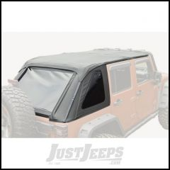 Rugged Ridge Black Diamond Bowless Soft Top For 2007-18 Jeep Wrangler JK Unlimited 4 Door Models 13750.38